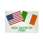 IRISH AMERICAN Rectangle Magnet (100 pack)