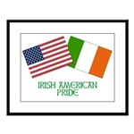 IRISH AMERICAN Large Framed Print