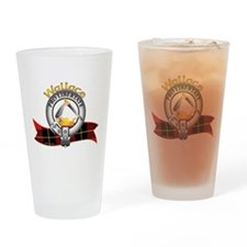 Wallace Clan Drinking Glass