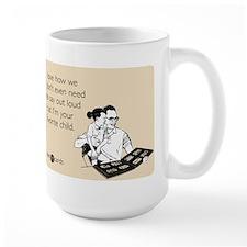Dad's Favorite Child Large Mug