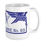 Masonic Waterloo Lodge Wisconsin Large Mug