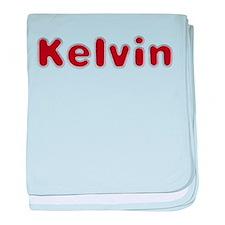 Kelvin Santa Fur baby blanket