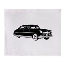 Fifties Classic Car Throw Blanket