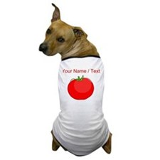 Custom Red Tomato Dog T-Shirt