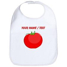 Custom Red Tomato Bib
