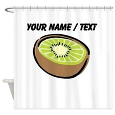 Custom Kiwi Shower Curtain