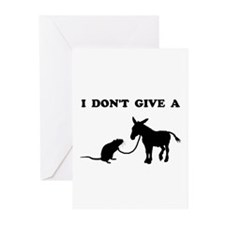 Rats Ass Greeting Cards
