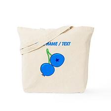 Custom Blueberries Tote Bag