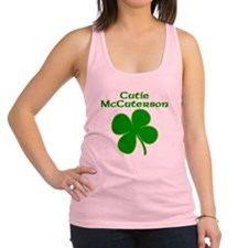 Cutie McCuterson Racerback Tank Top