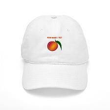 Custom Peach Baseball Cap