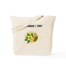 Custom Coconut Drink Tote Bag