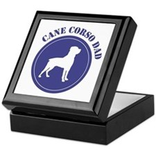 Corso Dad Keepsake Box