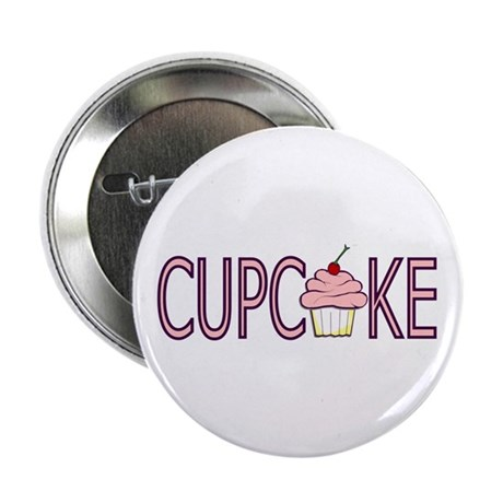 "Pink Cupcake 2.25"" Button (10 pack)"