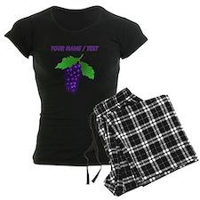 Custom Purple Grapes pajamas