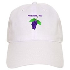 Custom Purple Grapes Baseball Cap