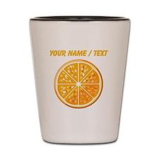 Custom Orange Slice Shot Glass