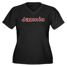 Jazmin Santa Fur Plus Size T-Shirt