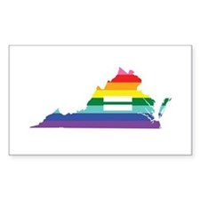 Virginia equality Decal