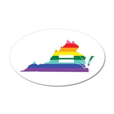 Virginia equality Wall Decal