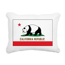 Panda Republic Rectangular Canvas Pillow