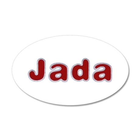 Jada Santa Fur 20x12 Oval Wall Decal