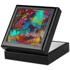 Technicolor Dream Keepsake Box