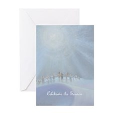 Funny Hold hands Greeting Card