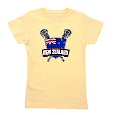 New Zealand Lacrosse Logo Girl's Tee