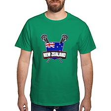 New Zealand Lacrosse Logo T-Shirt