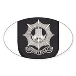 Gemeente Polite Oval Sticker