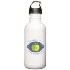 Preschool Teacher apple Water Bottle