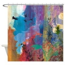 It Aint A Fable Baby Shower Curtain