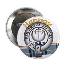"Hannay Clan 2.25"" Button"