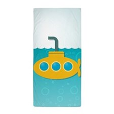 Yellow Submarine Beach Towel