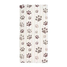 Paw Prints Beach Towel