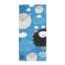 Whimsical Sheep Beach Towel