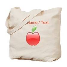 Custom Apple Tote Bag