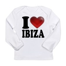 I Heart Ibiza Long Sleeve T-Shirt