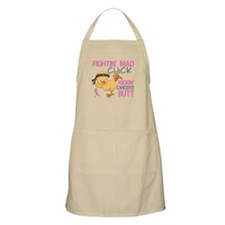 Fightin' Mad Chick Breast Cancer Apron