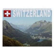 Swiss Wall Calendar