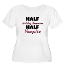 Half Welding Inspector Half Vampire Plus Size T-Sh