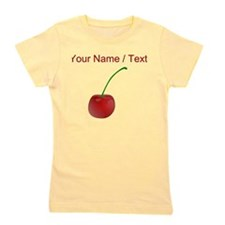 Custom Cherry Girl's Tee