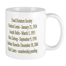 Dead Dictators Society Mug