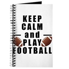 Keep Calm and Play Football Journal