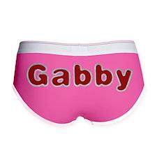 Gabby Santa Fur Women's Boy Brief