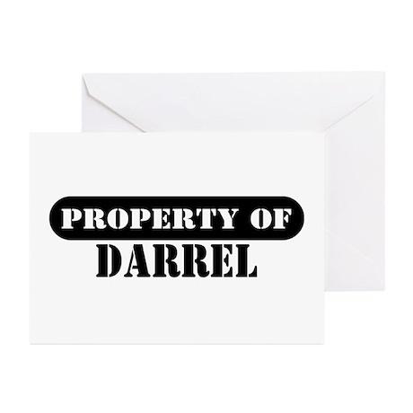 Property of Darrel Greeting Cards (Pk of 10)