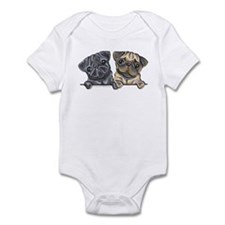 Pug Pals Infant Bodysuit
