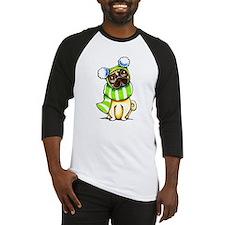 Pug Scarf Hat Baseball Jersey