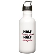 Half Security Guard Half Vampire Water Bottle