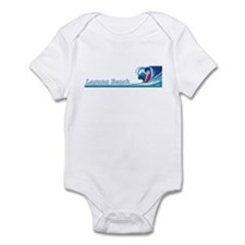 Cute Laguna beach Infant Bodysuit